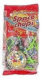 Space Chupi Color - Caramelo pintaleguas con palo sabor frutas - Bolsa de 100 unidades