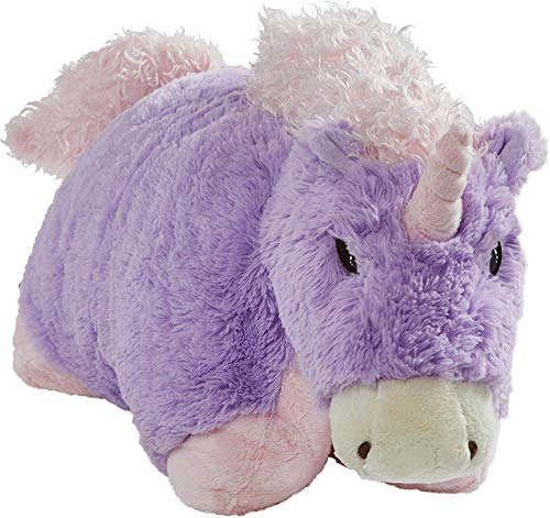 Pillow Pets Originals Magical Unicorn, 18' Stuffed Animal Plush Toy