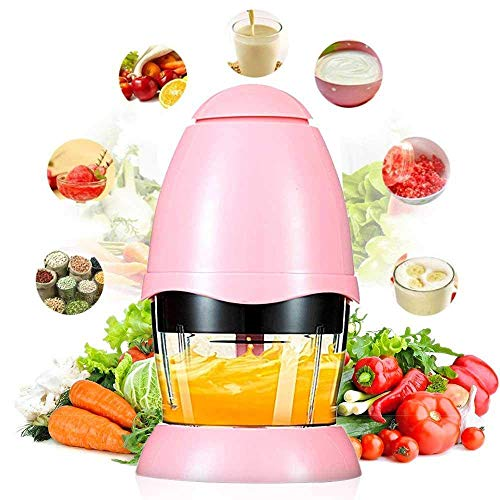 Nigura Meat Grinders Electric Food Processor, Multipurpose Smart Kitchen Food Chopper Vegetable Fruit Cutter Onion Slicer Dicer, Blender and Mincer, Glass Bowl, Multipurpose