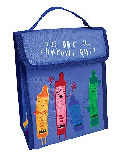 MerryMakers The Day The Crayons Quit Lunch Bag, 10-Inch