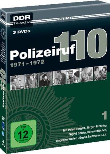 Polizeiruf 110 - Box 1: 1971-1972 ( DDR TV-Archiv ) [3 DVDs]