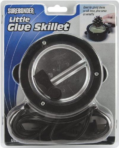 Surebonder 805 4 Diameter Glue Skillet , Black