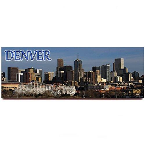 Denver panorámica imán para nevera Souvenir de viaje Colorado