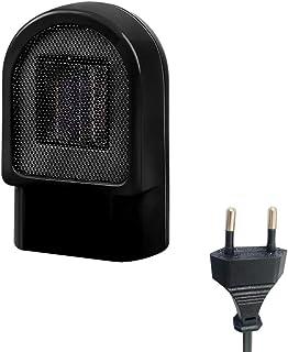 Jourbon Calentador 500 W Mini Calentador De Escritorio Eléctrico Calentador De Espacio Personal Portátil Estufa Radiador para Interior Camping Hogar Ventilador De Calentamiento Rápido