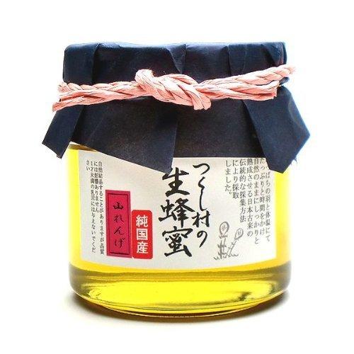 純粋国産蜂蜜 つくし村の生蜂蜜 山れんげ450g