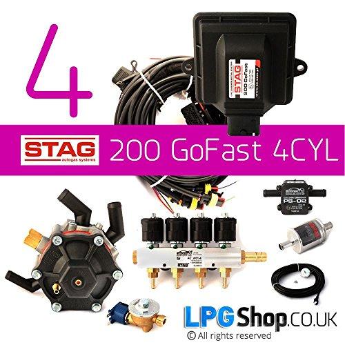 Kit de conversión de coche a gas STAG GF41939