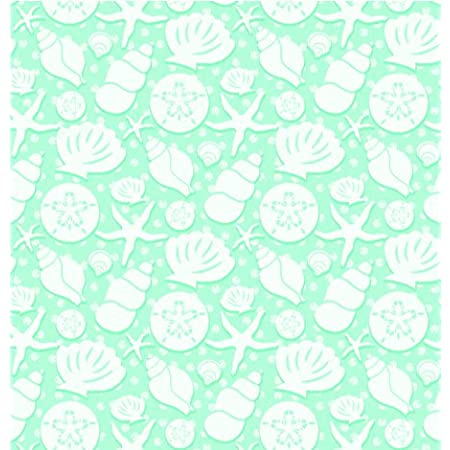 Vintage Gift Wrap 1979 Hallmark All Occasion Wrapping Paper-Seashells One Sheet