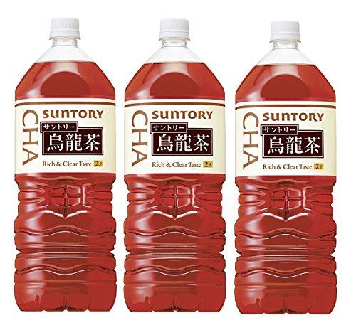 サントリー 烏龍茶 ペット 2000ml ×3本