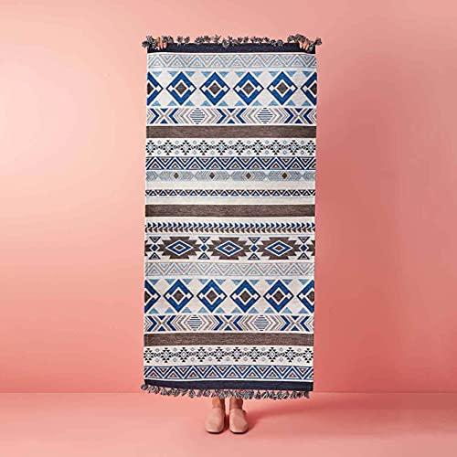 Bella Maison Kayoom - Alfombra (120 x 180 cm), color azul