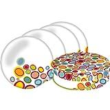PPD ' Pebbles Dessert Teller 4er Set