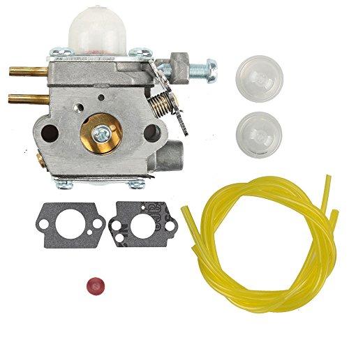 Hilom TB22EC Carburetor for WT-973 MTD 753-06190 Troy-bilt TB21EC TB32EC TB42BC TB80EC Trimmers Murray M2500 M2510 Remington RM2510 Brushcutter