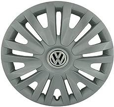 Volkswagen Genuine High chromeblack Wheel Trim Rings VW Golf R32 GTI Rabbit 5K0601147FVZN