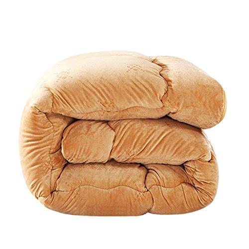 MMM Super doux garder au chaud hiver couette épaississement literie individuelle (taille : 150 * 200cm(2.5kg))