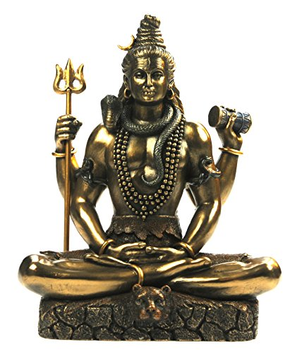 Veronese by Joh. Vogler GmbH Indischer Gott Shiva mit Dreizack Hinduismus Figur Indien