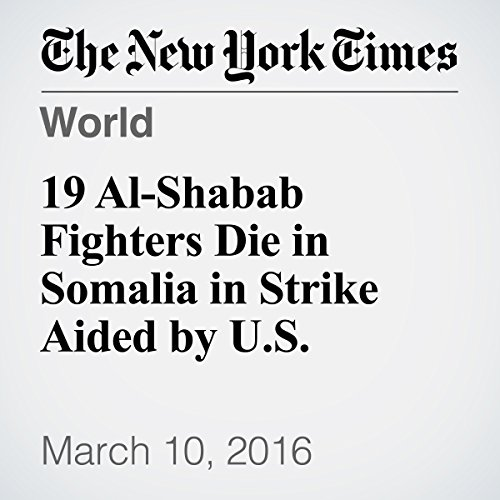 19 Al-Shabab Fighters Die in Somalia in Strike Aided by U.S. cover art