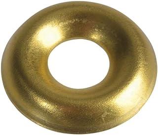 Forgefix Schroef Cup ringen massief messing gepolijst No.6 zak 200