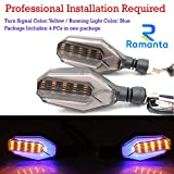 Ramanta Universal 4X 12 LED Turn Signal Lights Blinker Front Rear Lights