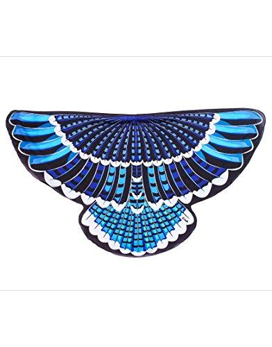Dreamy Dress-Ups 64021 Wings, vleugels, blauwe jay, blauwe vogel blauwe haaier Cyanocitta cristata