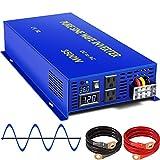 XYZ INVT 3500 Watt Pure Sine Wave Inverter 36V DC to 110v...