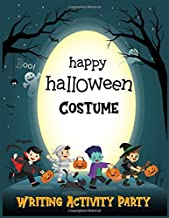 Halloween Costume Writing Activity Party: Writing and Drawing Scary Costume Ideas for Cosplay Boys (Halloween Activity Par...