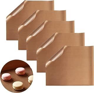 Vkospy Hornear Reutilizable Mat Antiadherente Hoja Horno Liner para Hornear Barbacoa a Prueba de Calor del coj/ín de pasteler/ía oilpaper