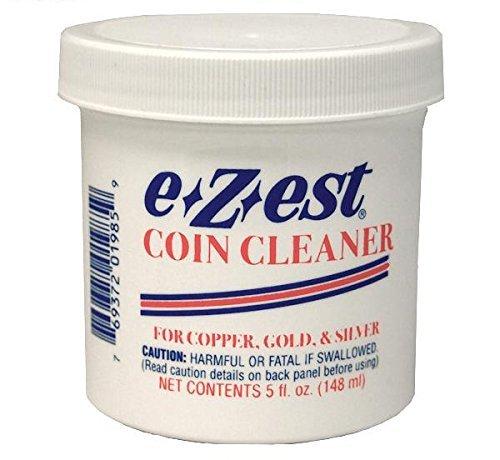 EZEST Coin Cleaner 5oz. jar (Qty = 1 Jar)