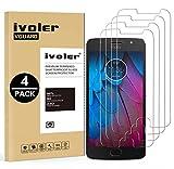 ivoler [4 Stücke] Panzerglas Schutzfolie für Motorola Moto G5s, 9H Festigkeit, Anti- Kratzer, Bläschenfrei, [2.5D R&e Kante]