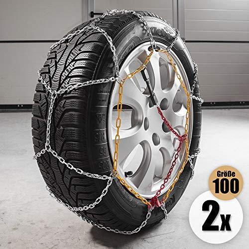 Diamond Car Schneeketten Alpin, Gr. 100, 2er Set
