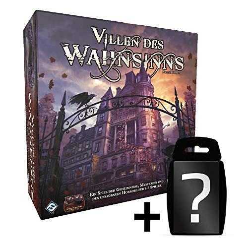 Villen des Wahnsinns - 2. Edition - Hauptspiel | DEUTSCH | Set inkl. Kartenspiel