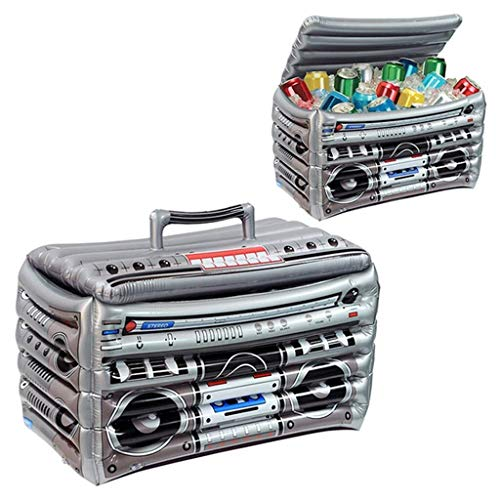 MGWA Juguetes inflables de la Piscina flotadores de la Piscina, el refrigerador de Servicio Inflable, el Modelo de Radio, Ice Fish for BBQ Fiesta de Halloween Accesorios for la Piscina al Aire lib