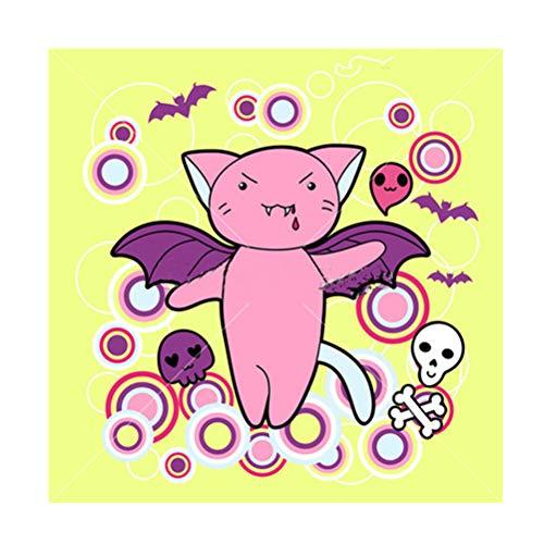 LIOOBO 5D DIY Diamant Plein Peinture, Peinture de diamant Halloween chats et créatures motif broderie point de croix peinture par Diamond Home Ornaments 5015
