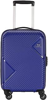 Kamiliant by American Tourister Kam Zakk Polypropylene 55 cms Blue Hardsided Cabin Luggage (KAM ZAKK SP55CM - ROYAL BLUE)