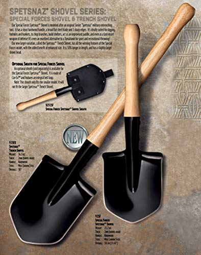 Cold Steel Special Forces Shovel 92SF Pelle