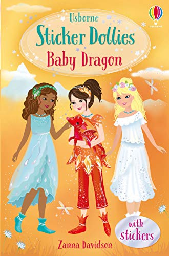 Baby Dragon: Sticker Dollies (Sticker Dolly Stories)