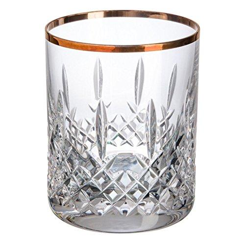 Cristal de Bohemia Blues Filo Vasos Bajos, Cristal, 32x24x8 cm, 6 Unidades