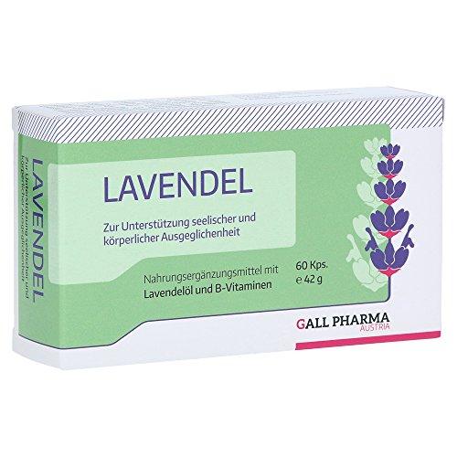 GALL PHARMA Lavendel GPH Kapseln, 60 St. Kapseln