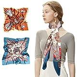 VBIGER Pañuelo de Seda para Mujer