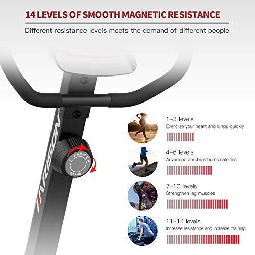 Magnetic Recumbent Exercise Bike Stationary bike for Seniors