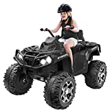 Agestep Electric Kids ATV, 12V Battery Powered Kids...