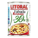 LITORAL Plato Preparado de Fabada -30%, Sin Gluten, 420g
