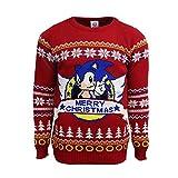 SEGA Sonic Classic Christmas Jumper