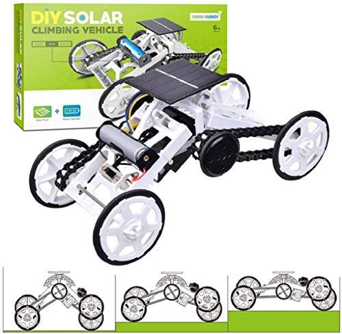 Talent Star STEM Toys Solar Car for 8-12 Year Old Boys, DIY Climbing Vehicle Educational Toy Science Assembly Kit (Solar car)