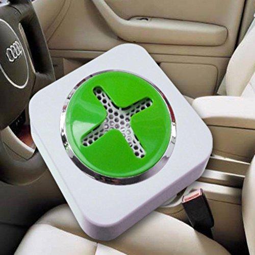 AMYMGLL Double usage ionique négative purificateur d'Air voiture automobile oxygène bar purificateur d'Air cahier 100 * 100 * 42 mm , 1