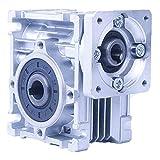 ウォームギア 減速機 NMRV-030 減速比80:1 Nema23ステッパーモーター用 入力穴11mm 出力軸14mm