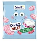Bebivita Knabberprodukte, Knabber Mich Reiswaffel Himbeere-Joghurt, 7er Pack (7 x 30 g) -