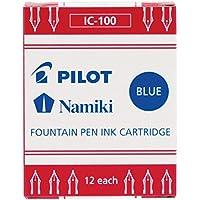 Pilot 69100 詰め替えカートリッジ Plumix 万年筆用 ブラック 12本/箱