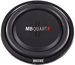 MB Quart DS1-304 Discus Shallow Mount Subwoofer (Black) – 12 Inch Subwoofer, 600 Watt, Car Audio, 2 Inch Voice Coils, UV Rubber Surround, Best in Sealed Enclosures