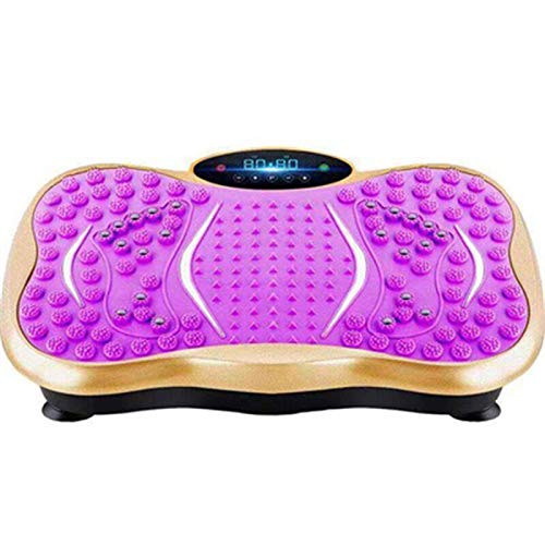 vp300 vibrationsplatte 4d, power plate Vibrations-Trainingsgerät , Mit Magnotherapie- Und Bluetooth-Lautsprechern Heimtrainingsgeräte Für Gewichtsverlust Und Muskelaufbau(Size:59*35*12CM,Color:02)