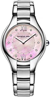 Raymond Weil Women's 5132-ST-00986 Noemia Analog Display Quartz Silver Watch