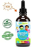 Best Natural Focus Supplement for Kids, Supports Healthy Brain Function to...